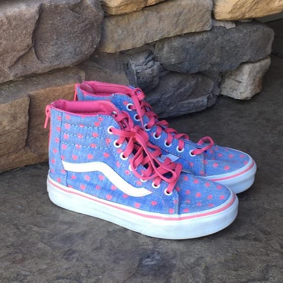 Vans Shoes | Girls High Top Vans | Poshmark